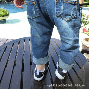 Image 5 - אביב תינוק בגדי ילדים בגדים כולל עבור ילד ילדה enteritos ילד ג ינס סרבל לילדים בנות סרבל macacao ג ינס