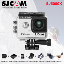 Orignal SJCAM SJ 5000 X sj5000x Elite WiFi 4 K 24fps 2K30fps Gyro Sport DV 2.0 LCD NTK96660 Plongée 30 m Étanche Action Caméra