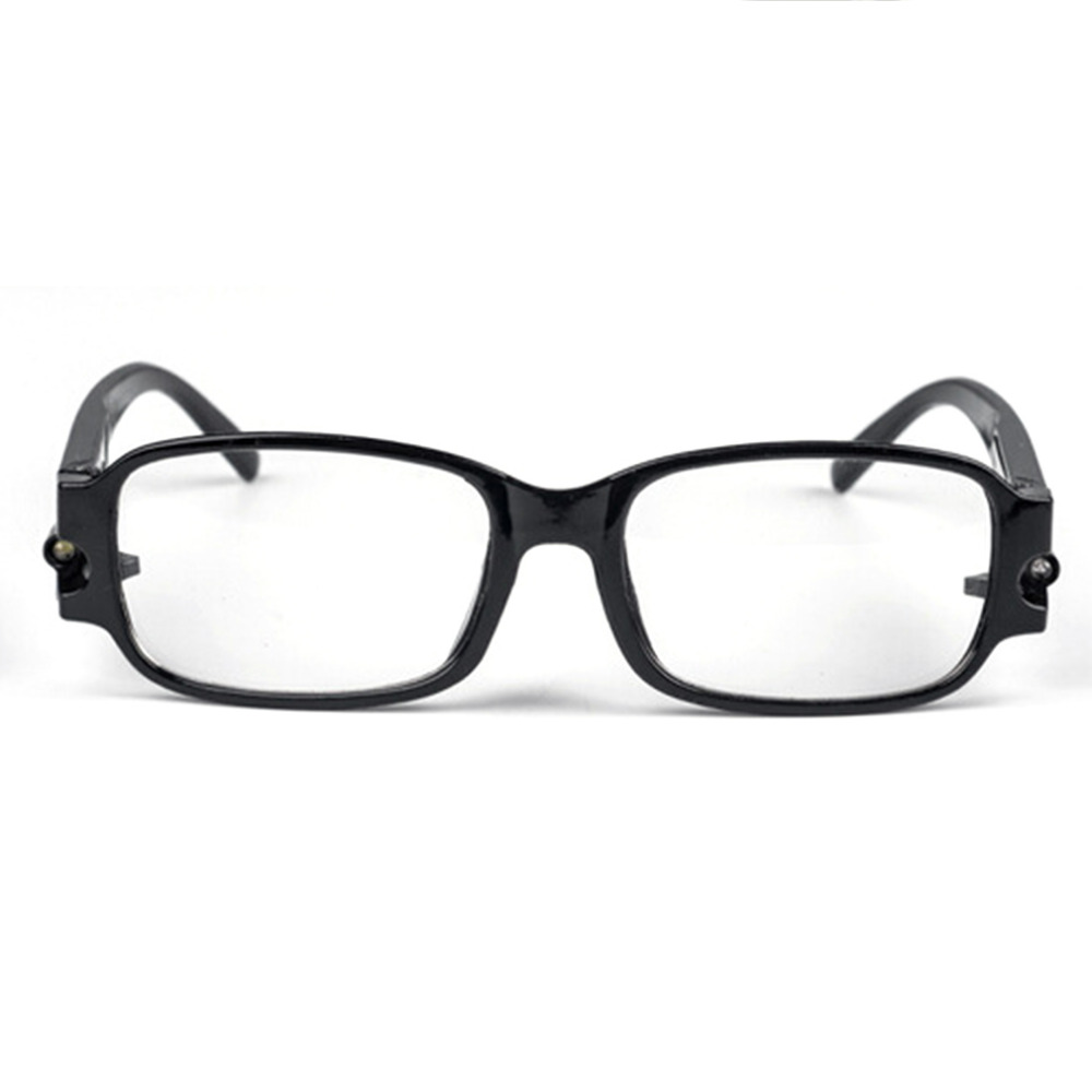 Buy One Get One Free LED Reading Glasses Adjustable Magneic Health Protection Lazy Glasses Presbyopic Lesebrille Diopter Glasses