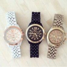 Ginebra elegante mate pulsera reloj famosa marca mujer reloj de las señoras