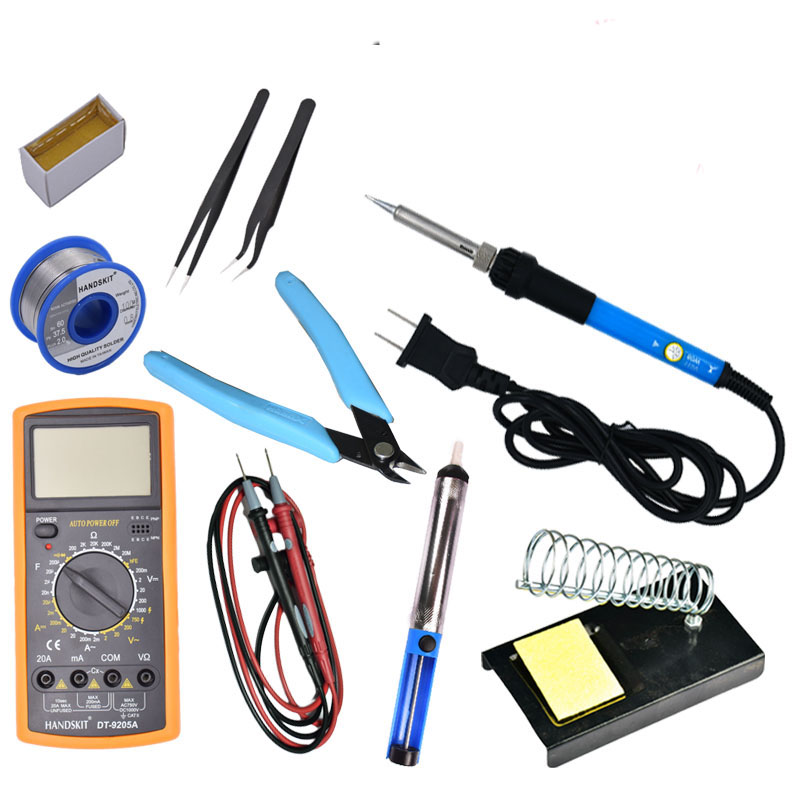Electric soldering iron soldering welding tool multimeter maintenance temperature electric wire cutting pliers cutter diagonal professional welding wire feeder 24v wire feed assembly 0 8 1 0mm 03 04 detault wire feeder mig mag welding machine ssj 18