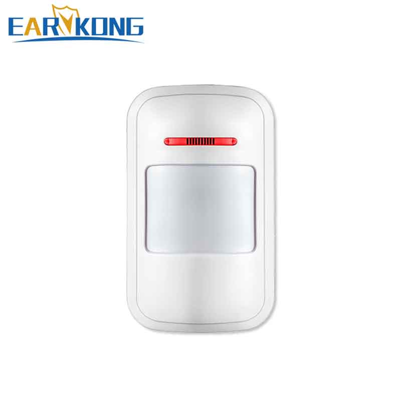 Free Shipping 433MHz Wireless Motion Sensor Alarm, For Home Burglar Security PSTN/GSM/Wifi/G90B Alarm System, Never False Alarm