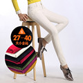 Free Shipping 2017 New Fashion Long Pants For Women Trousers Plus Size XXXXXL Winter And Autumn Pencil Corduroy White And Black