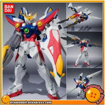 "Japan Anime ""Gundam W"" Original BANDAI Tamashii Nations Robot Spirits Action Figure No.118 - Wing Gundam Zero"