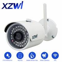 Outdoor Waterproof Wifi IP Camera 1280X720P HD 1 0mp Wireless P2P Onvif Metal Aluminium Alloy Up