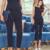 Moda Mujeres Trajes de Negocios Oficina Formal Trajes de Uniforme de Trabajo de Strench diseños de Las Mujeres Top y Pantalón Recortado 2 Unidades Set Plus tamaño