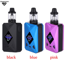цена на SUB TWO Vape M6 100W 2600mAh Box Mod E-Cigarettes Large Capacity 4ml tank Vape Set Vape Pen Evaporator Electronic Cigarette kit