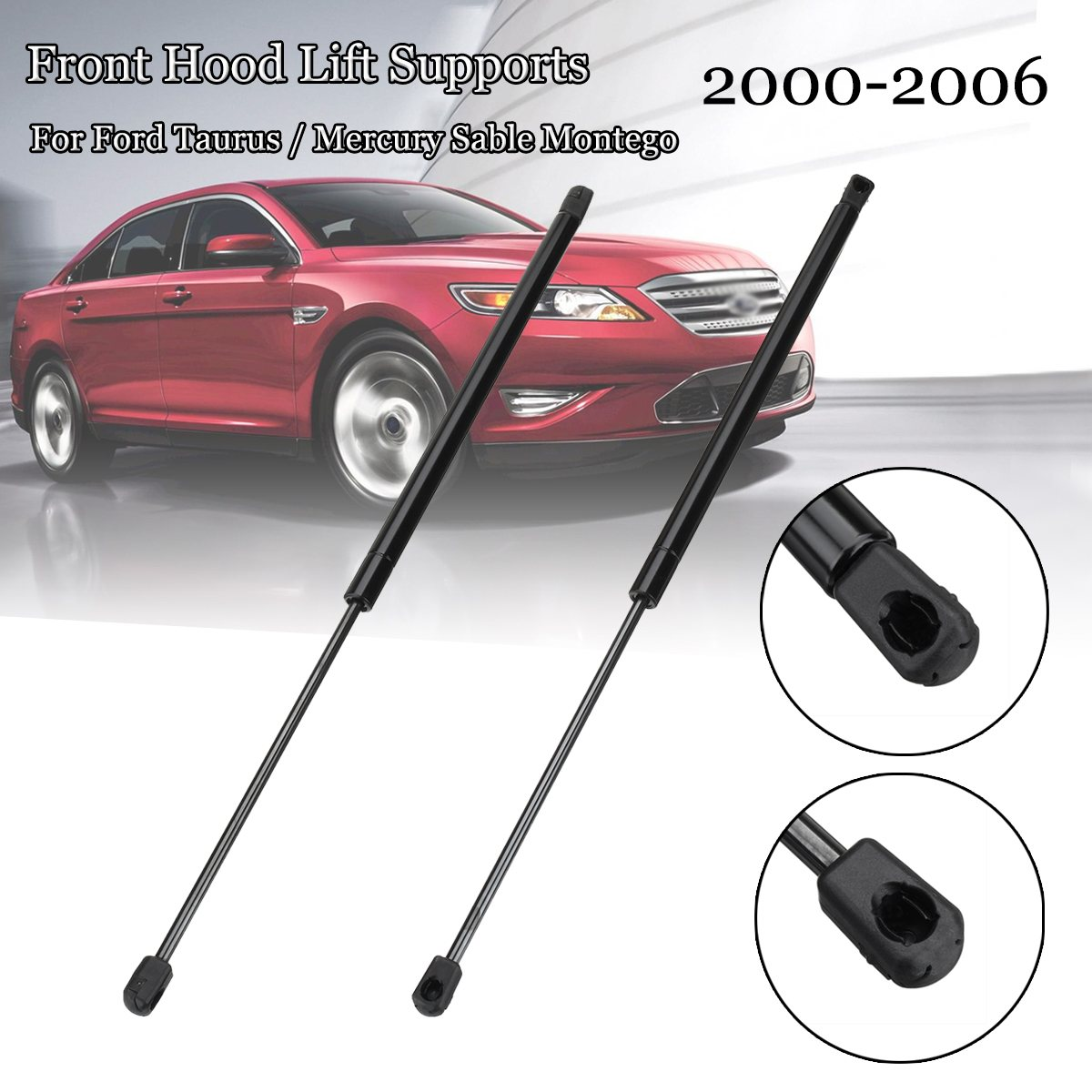 2Pcs Car Front Hood Lift Supports Struts Shocks For Ford Taurus for Mercury  Sable Montego 2F1Z16C826BA 600mm-in Strut Bars from Automobiles &  Motorcycles on ...