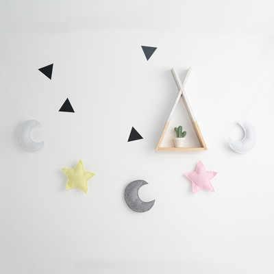 5 шт., подвесная веревка со звездами, украшение на кровать, подвеска, Скандинавская стена для детской комнаты фото-игрушка, Детский Рождественский подарок, скоба