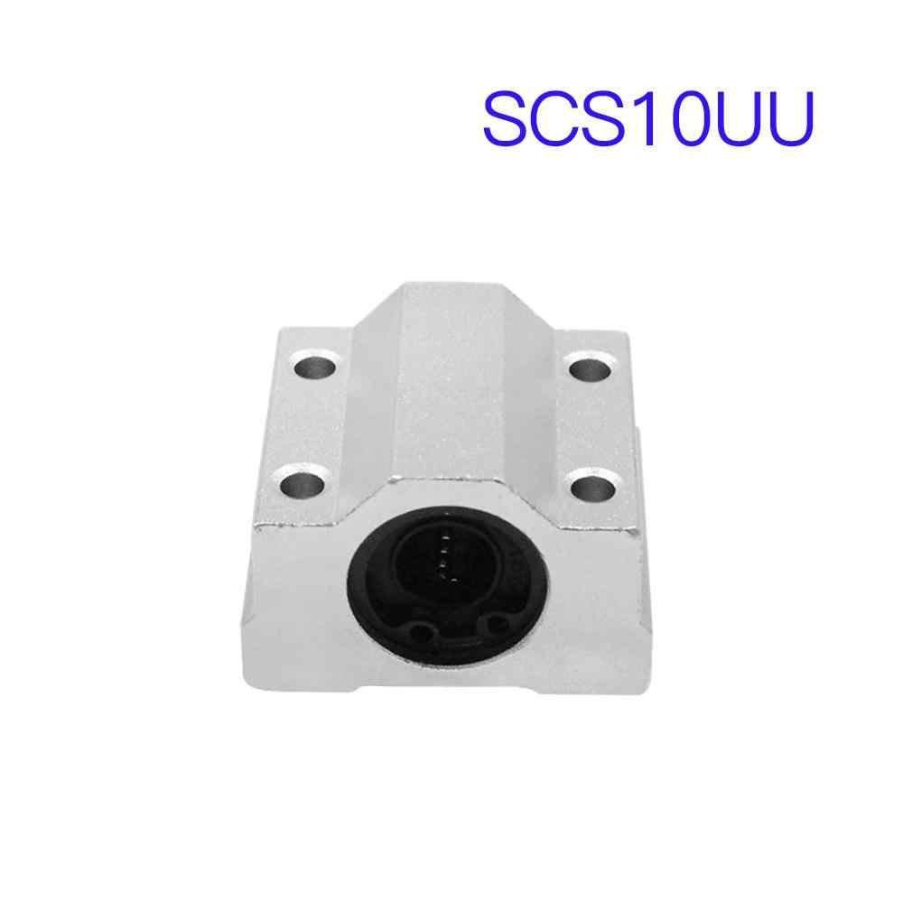 4 قطعة SCS8UU SCS6UU SCS10UU 8 مللي متر 6 مللي متر 10 مللي متر الخطي كروي بلوك ل CNC راوتر 3D طابعة أجزاء