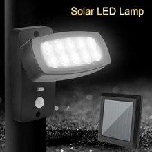 solar motion sensor light 10 LED Waterproof  Emergency Garden Street Solar Led Pir
