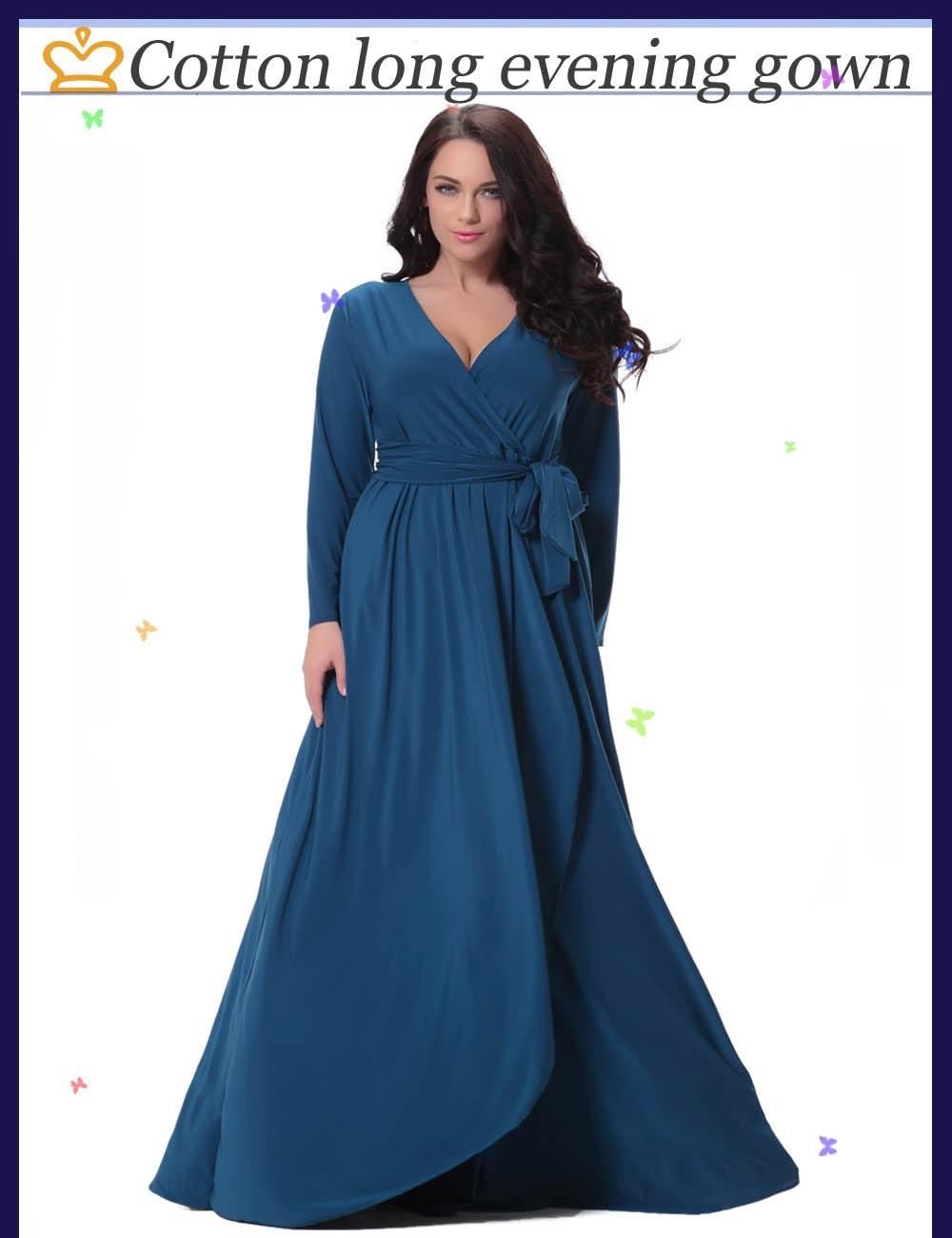 6c34ec0c41a Autumn Winter Women Dress Long Sleeve Deep V Neck Waist Belt Floor Length  Dressing Gown Big Size Irregular Swing Maxi Dress. 0-1. 1 ...