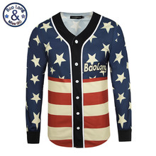 Brand Clothing Spring Autumn Men's Cardigan 3D Printed US Flag Veste Homme Men Jacket Coats Hip Hop erkek mont Plus Size M-3XL