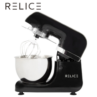 RELICE Electric Stand Mixer 800W 6 Speed 3.2 Liters Household Kitchen Food Mixer Mixing Bowl Dough Hook Flat Beater Women's Day