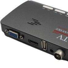 Marsnaska DVB-T DVB-T2 reveiver Digital Terrestrial HDMI 1080P DVB-T/T2 VGA AV CVBS TV Tuner Receiver With Remote Control
