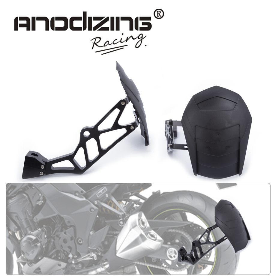 Rear Wheel Tire Fender Mudguard Block For Kawasaki Z1000 Z1000SX 2010-2016 Motorcycle Rear Fender promax driven wheel block for gy6 150cc scooters atvs go karts moped quads 4 wheeler dune buggys