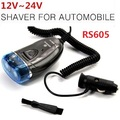 Car Electric Shaver for Rs605 Car Portable Beard Hair 2 Blades razor 12V-24V Dual shaving heads