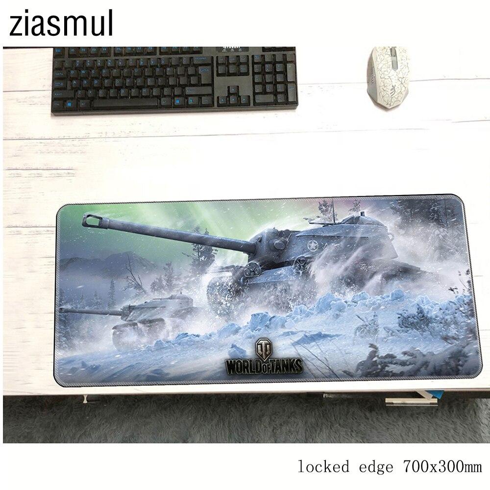 Mundo dos tanques padmouse 700x300mm wot almofada para mouse notbook computador mousepad popular jogo mouse pad gamer para computador portátil