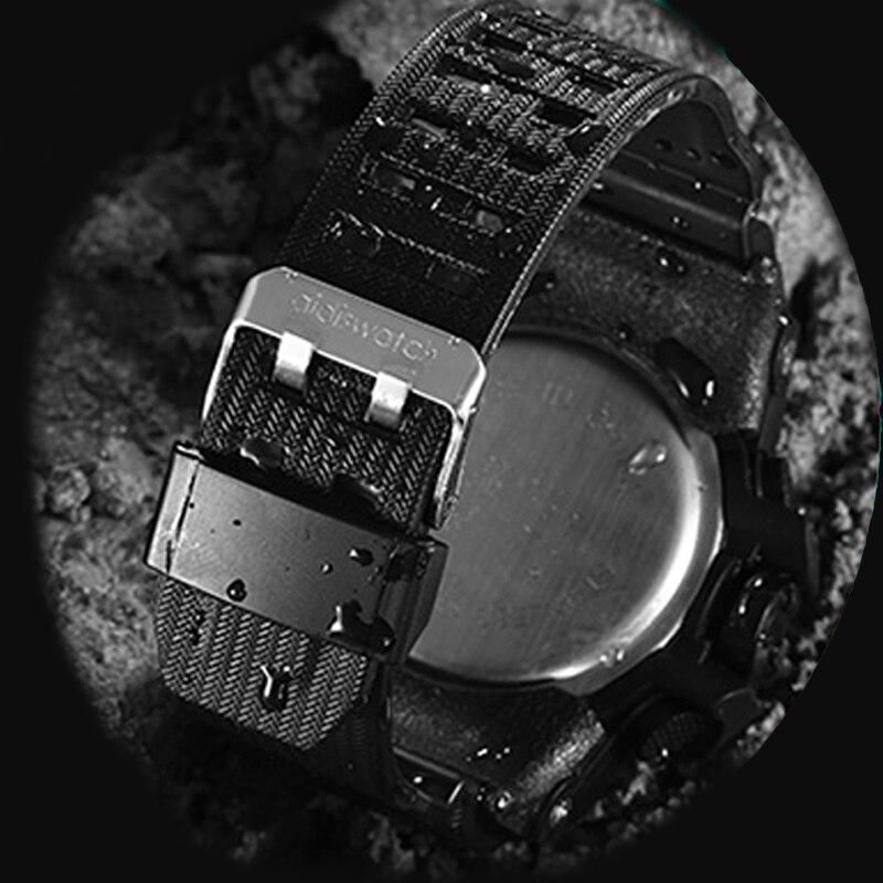 AIDIS merk heren sport horloges waterdichte militaire LED digitale - Herenhorloges - Foto 3
