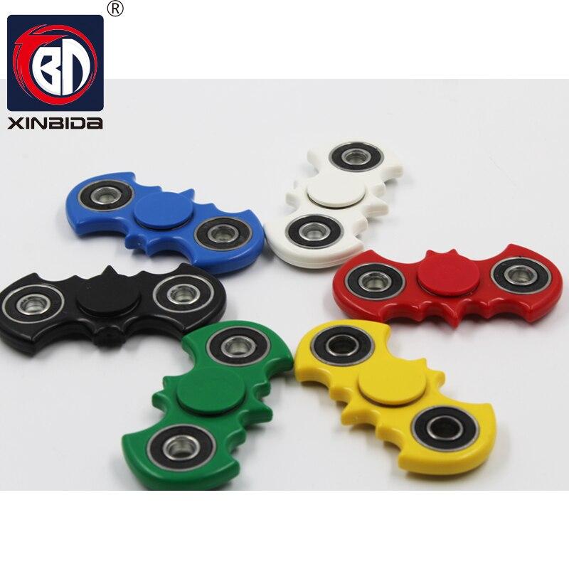 Batman, Hot Spinner Fidget Speelgoed Plastic Stress Wiel EDC Anti Stress Hand Spinner Voor Autisme en antistress Multicolor 6 stijl