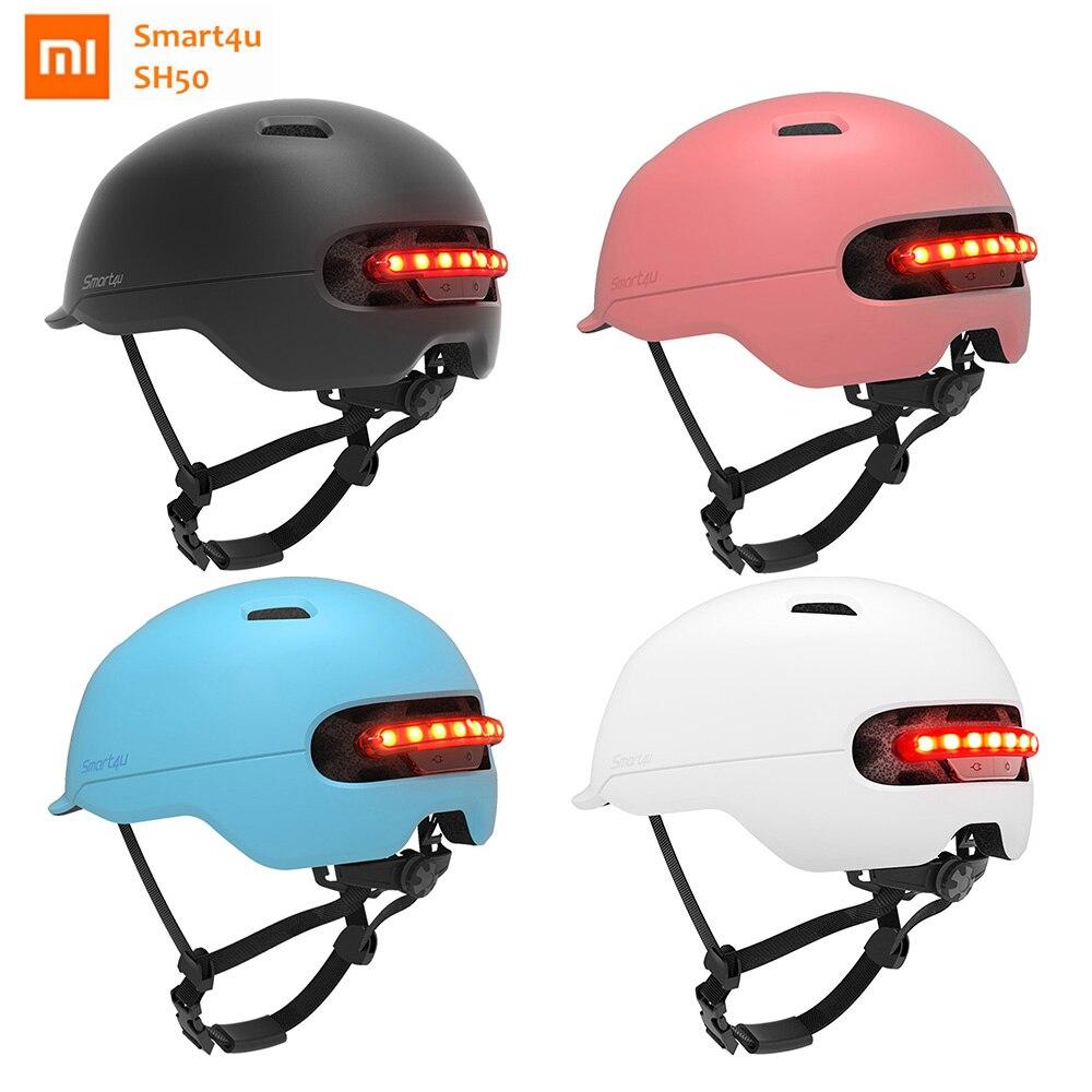 Light-Helmet Bike Bicycle Smart-Flash-Light Xiaomi Smart4u Brompton SH50 For Automatic