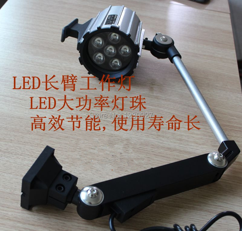 Высокое качество 12 Вт 110 В/220 В водонепроницаемый led Длинные Руки раза рабочей лампа/машина работу огни /Освещение/оборудование лампы