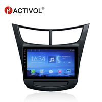 HACTIVOL 9 Quad core car radio gps navi for Chevrolet Sail 3 2015 android 7.0 car DVD video player with 1G RAM 16G ROM