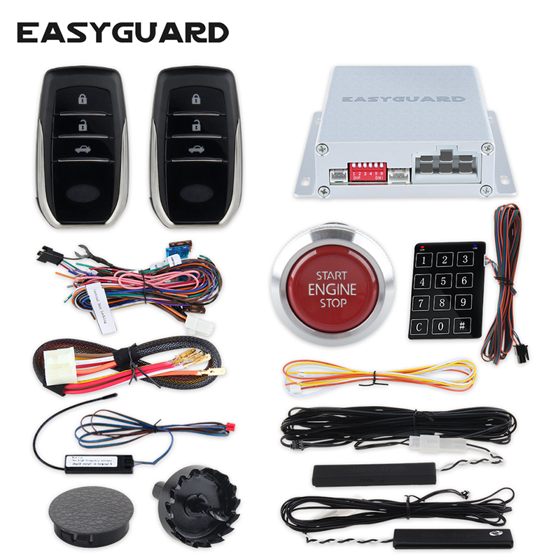Easyguard Pke Car Alarm System Remote Central Locking
