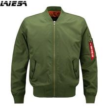 LIESA Jackets Men Bomber Jacket Hip Hop Patch Designs Slim Fit Pilot Bomber Jacket Coat Men Jackets Plus Size 6XL New 2018