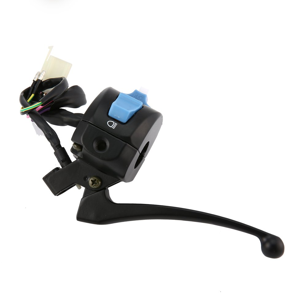 Universal Motorcycle Switchs Black Left Brake Lever Light Switch Control Fit For Scooter Moped GY6 50cc 150