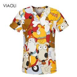 VIAOLI униформа для сотрудниц спа-салонов больничный медицинский скраб комплект одежды стоматологическая клиника и салон красоты для