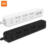 Newest 100 Original Xiaomi Power Strip Outlet Socket 3 USB Extension Socket Plug With Socket AU