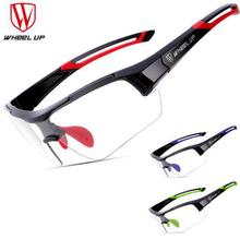 WHEEL UP Sports Photochromic Polarized Glasses Cycling Eyewear Bicycle Glass MTB Bike Bicycle Riding Finshing Cycling Sunglasses