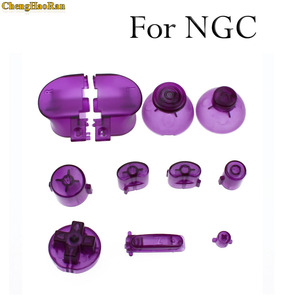 Image 5 - ChengHaoRan 21 colors Analog Joystick controller Button  Grip Stick Cap For NGC Controller Y X A B Z Buttons for Gamecube