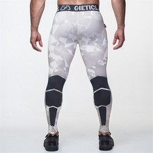 2016 Camo Herren Compression Hosen Hohe Elastische Mens Jogger Fitness Kleidung Strumpfhosen Leggings Böden