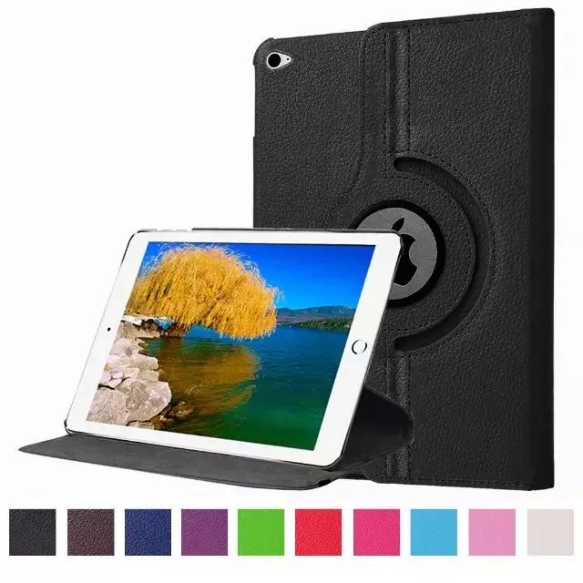 купить Cheap For iPad Pro Case , 360 Degree Rotation PU Leather Tablet Cover for iPad Pro ,For Apple Tablet Case 12.9 inch по цене 951.29 рублей