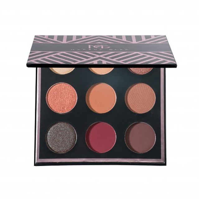 Brand MAKEUP 9 Colors Eyeshadow Pallete matte eyeshadow naked eye shadow earth tone PALETTE for face