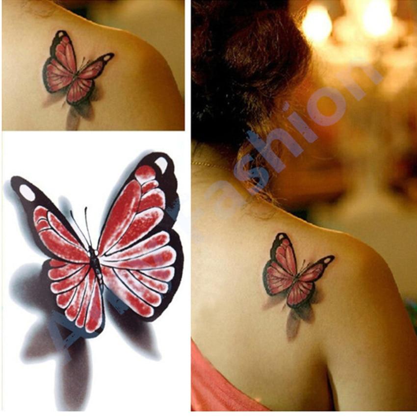 Online Get Cheap Fancy Vlinder Tatoeages -Aliexpress.com ...