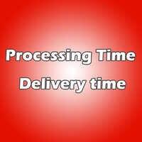Proszę dowiedzieć się, czas przetwarzania i czas dostawy.