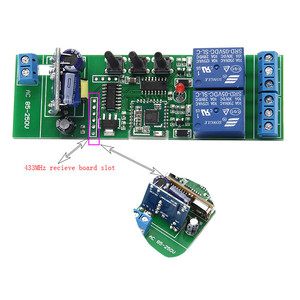 Image 4 - EweLink Smart home WiFi  RF433 2 channel switch inching interlock selflock wifi module app control remote relay DIY Smart Home