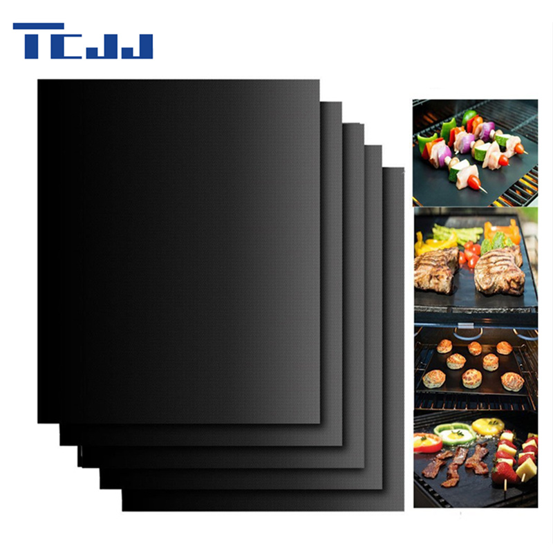Teflon Barbecue Grill Mat for Microwave Oven Outdoor BBQ Accessories Non stick BBQ Liner Sheet 400