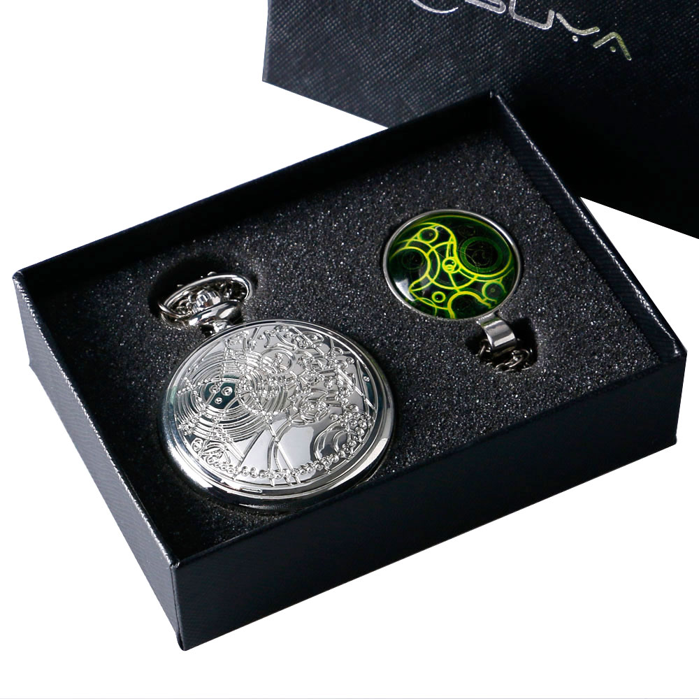 Doctor Who Pocket Watch Set With Gift Box Bestseries Shop