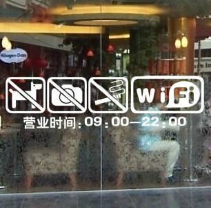a0da0e0a308 placeholder Loja do hotel escritório porta janela de vidro etiqueta do  sinal adesivo etiqueta de advertência adesivo