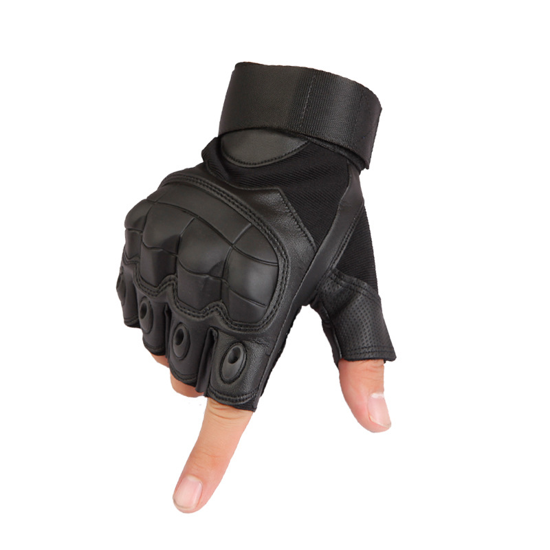 2017 Army Tactical Gloves Fingerless Mil