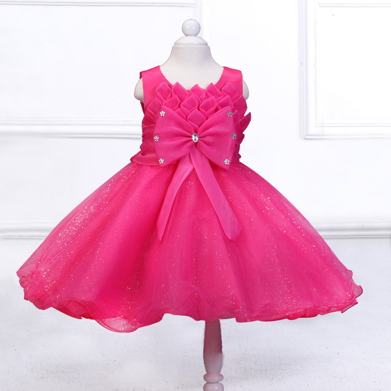 Retail New Arrival Cute girl princess Wedding party Dress Christmas Costume Flower Girl Dresses free shipping MK-a6 retail new girl flower dress child princess gauze dress summer summer costume 7 colors free shipping 5031