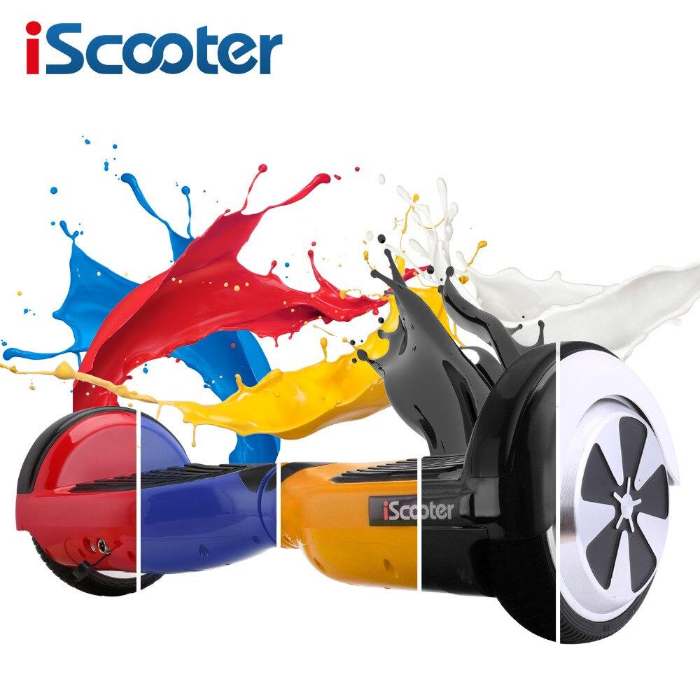 Hoverboard 6,5 pulgadas Altavoz Bluetooth eléctrico Giroskuter Gyroscooter Borda giro Scooter Hoverboard dos ruedas Oxboard