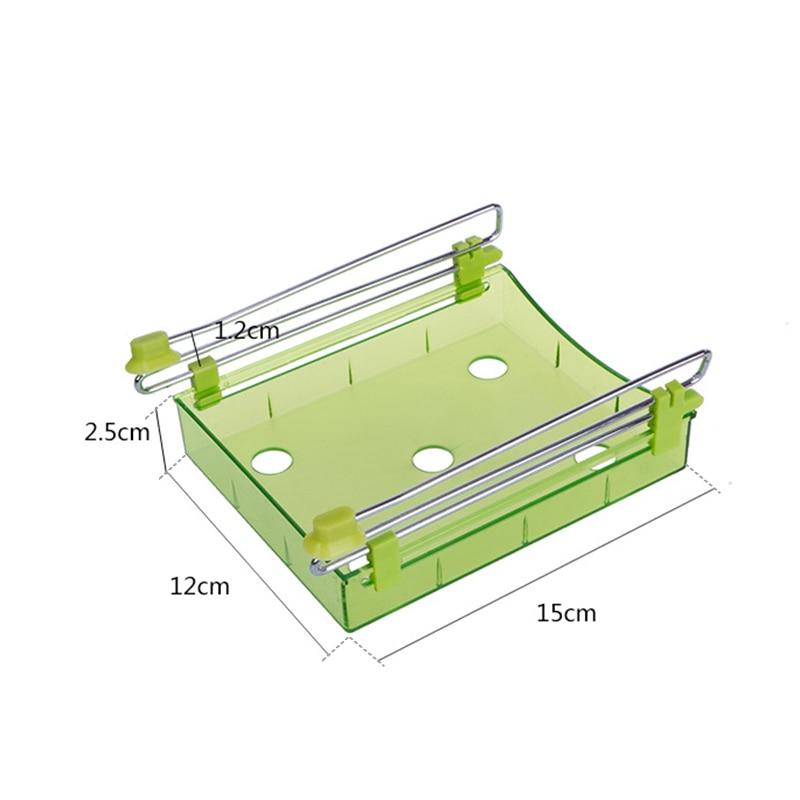 Multi función de organizador de cocina refrigerador Rack de almacenamiento  de nevera congelador estante titular comida divisor para cajón espacio de  ahorro ... 2ab3ca1ba10c