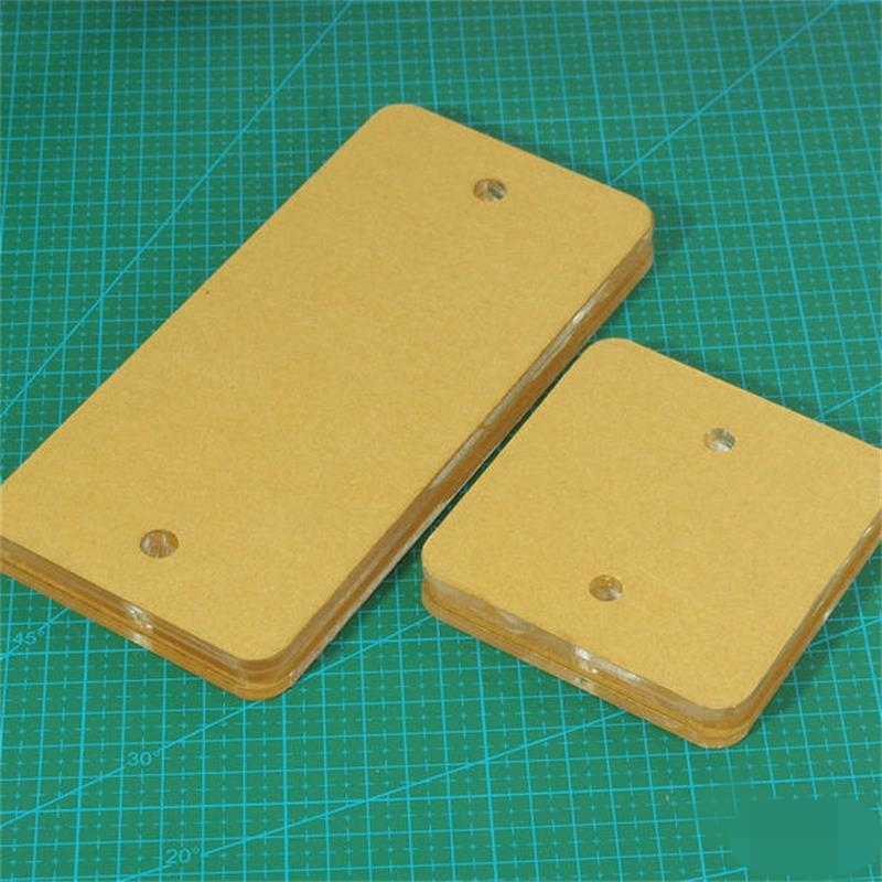 Sewing Accessories Acrylic Template For LEATHER Zipper Installation Installer Wallet FIX DIY Tool Repair