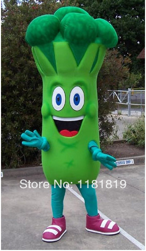 MASCOT Bruce Broccoli mascot costume custom fancy costume anime cosplay kits mascotte fancy dress carnival costume