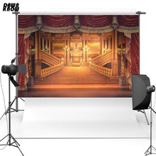 DAWNKNOW Beauty and Beast Vinyl Photography Background luxurious Castle Polyester Backdrops For Children Photo Studio Props G083